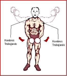 aumentar los hombros