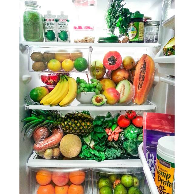 vegetales en refri